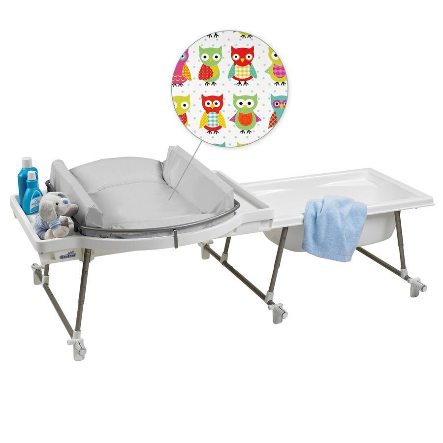geuther set baignoire et table langer aqualino 4830 blanc design 031. Black Bedroom Furniture Sets. Home Design Ideas