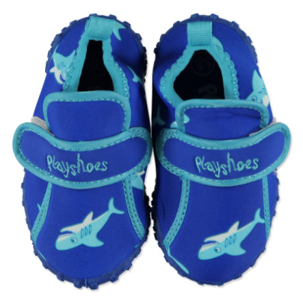 PLAYSHOES Boys Buciki do wody Aqua Rekin