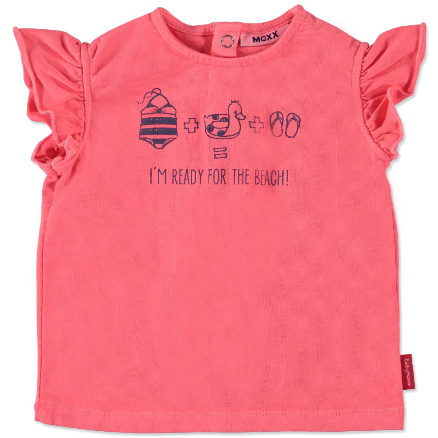 MEXX Girls Baby T-Shirt neon pink