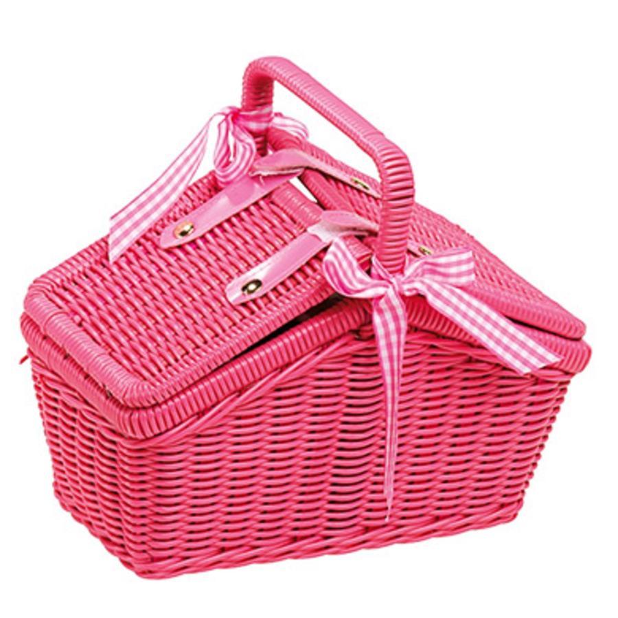 """small foot® Piknik-kori """"vaaleanpunainen"""""""