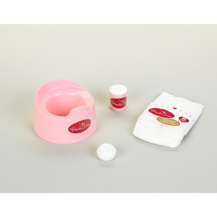 KLEIN Princess Coralie - Set vasino da notte con accessori