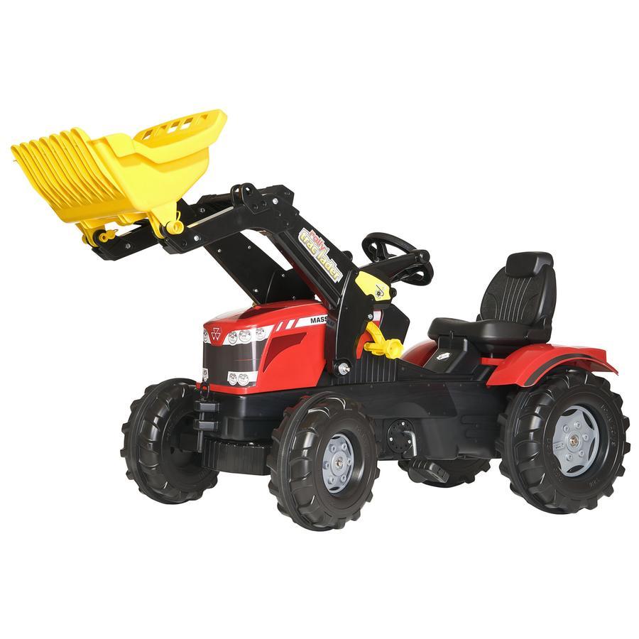 ROLLY TOYS Traktor  z ładowaczem MF 6850 Massey Ferguson