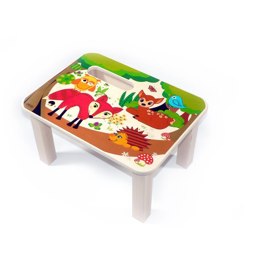 HESS Mini stołeczek Zwierzęta leśne
