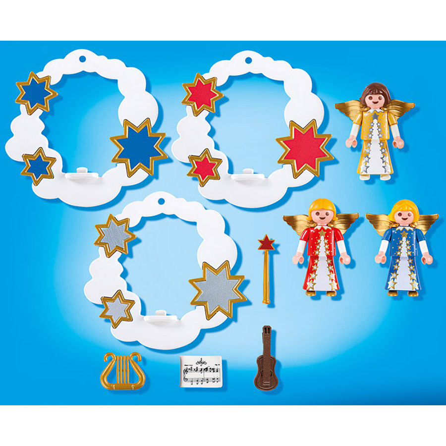 PLAYMOBIL Décorations de Noël avec anges 5591