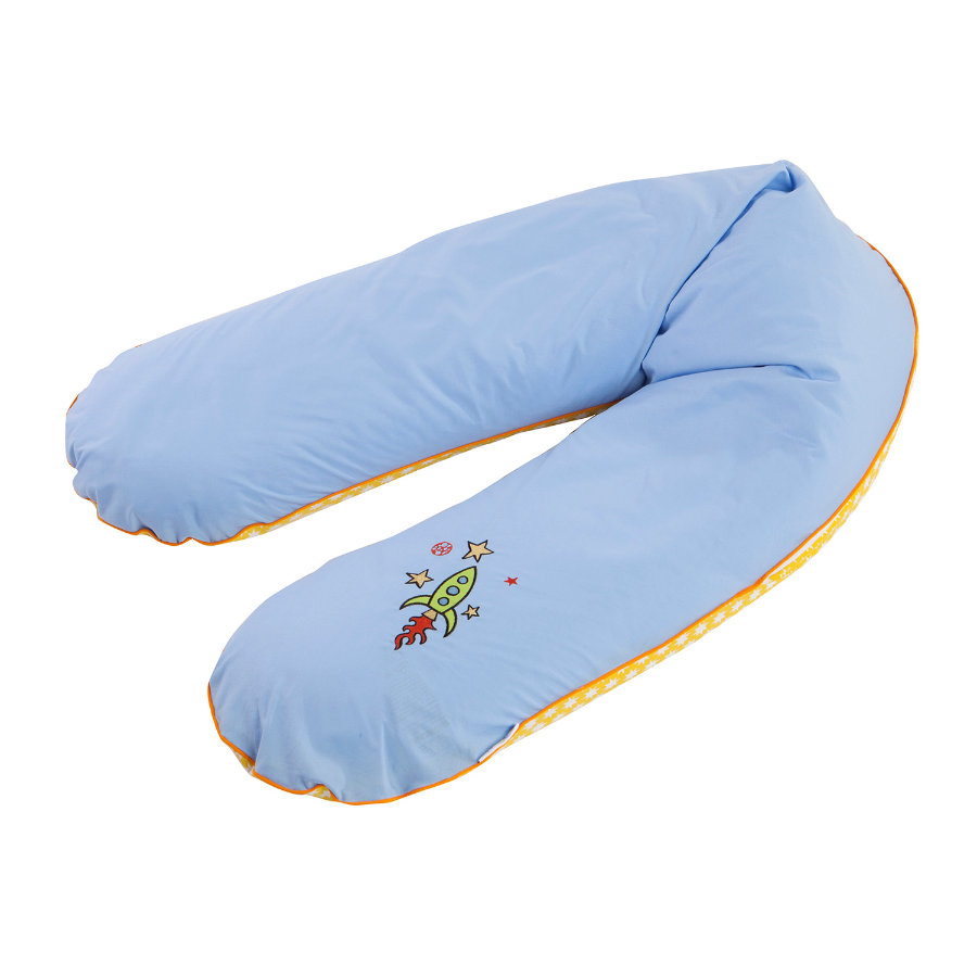 ZÖLLNER Nursing Pillow with Bead Filling and Startrip Patch