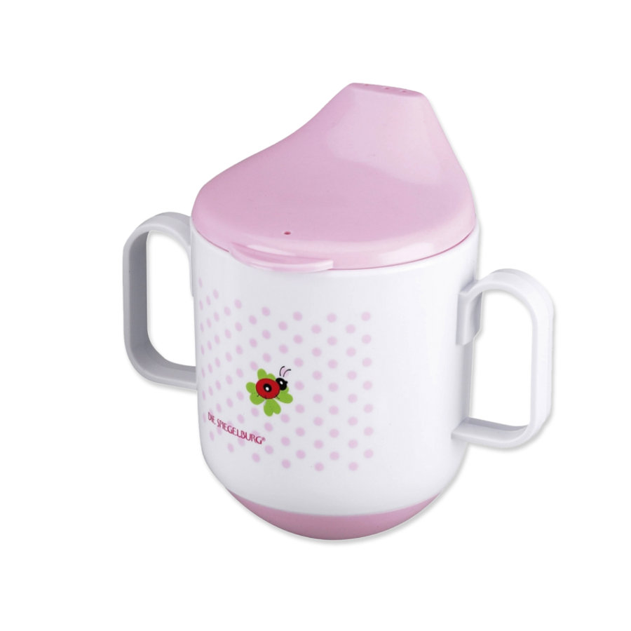 COPPENRATH Training Mug BABY LUCK pink