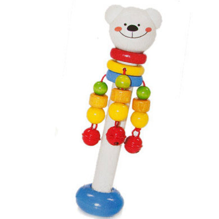 HESS Bear Stick Rattle