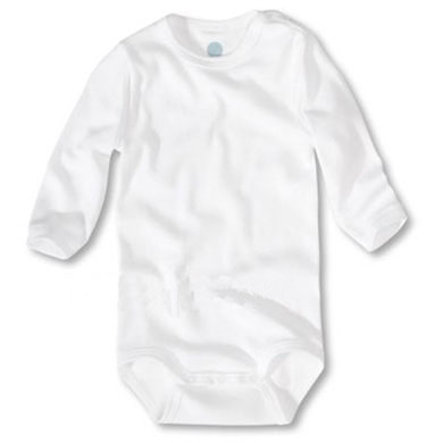 SANETTA Long Sleeved Bodysuit White