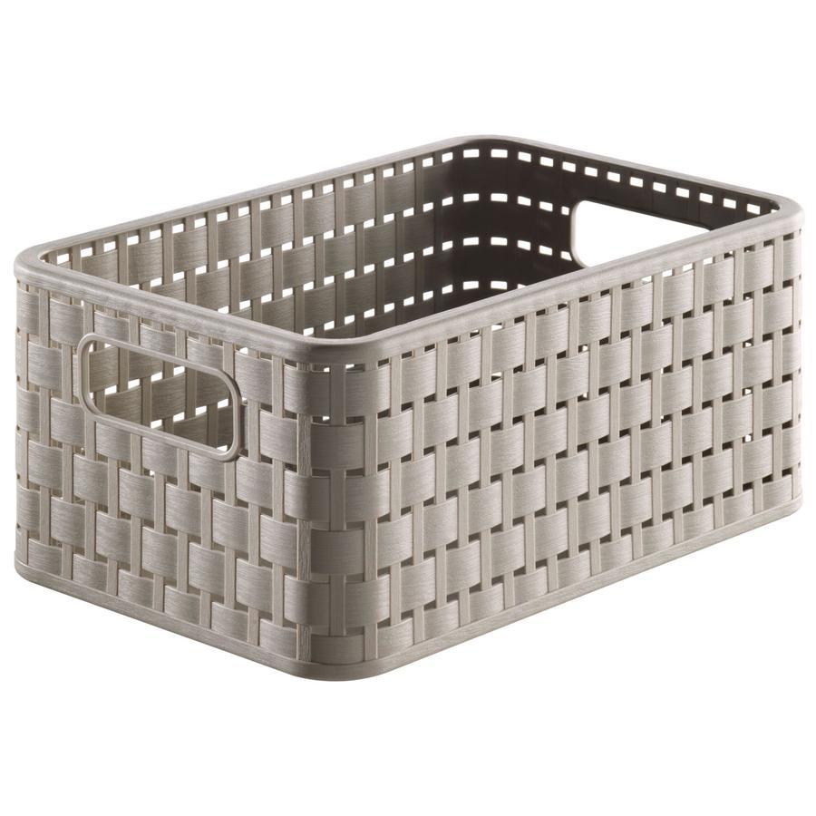 ROTHO Förvaringskorg A5 grå