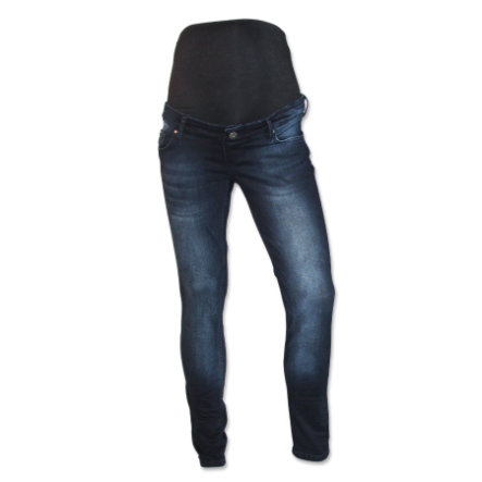 QUEEN MUM Zwangerschapsbroek SLIMFIT dark blue
