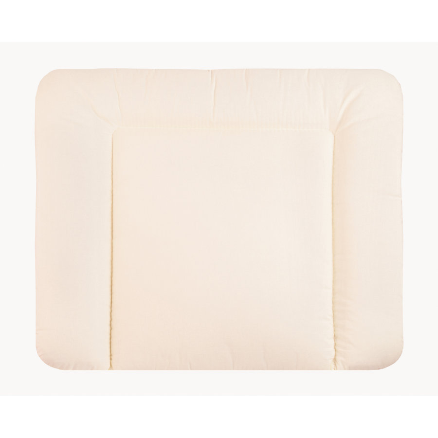 ZÖLLNER Changing Pad - Softy Fabric uni ecru