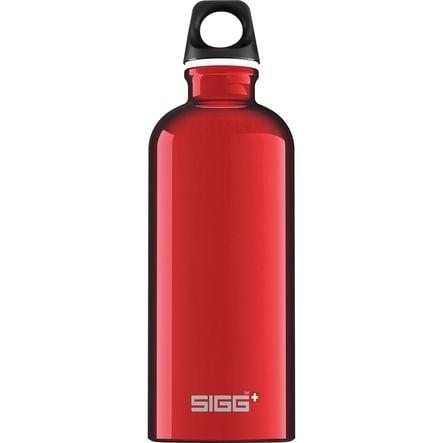 SIGG Láhev na pití 0,6 l Design Traveller Red