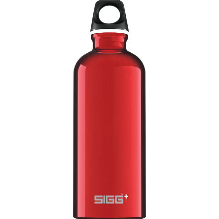 SIGG Trinkflasche 0,6l Design Traveller Red
