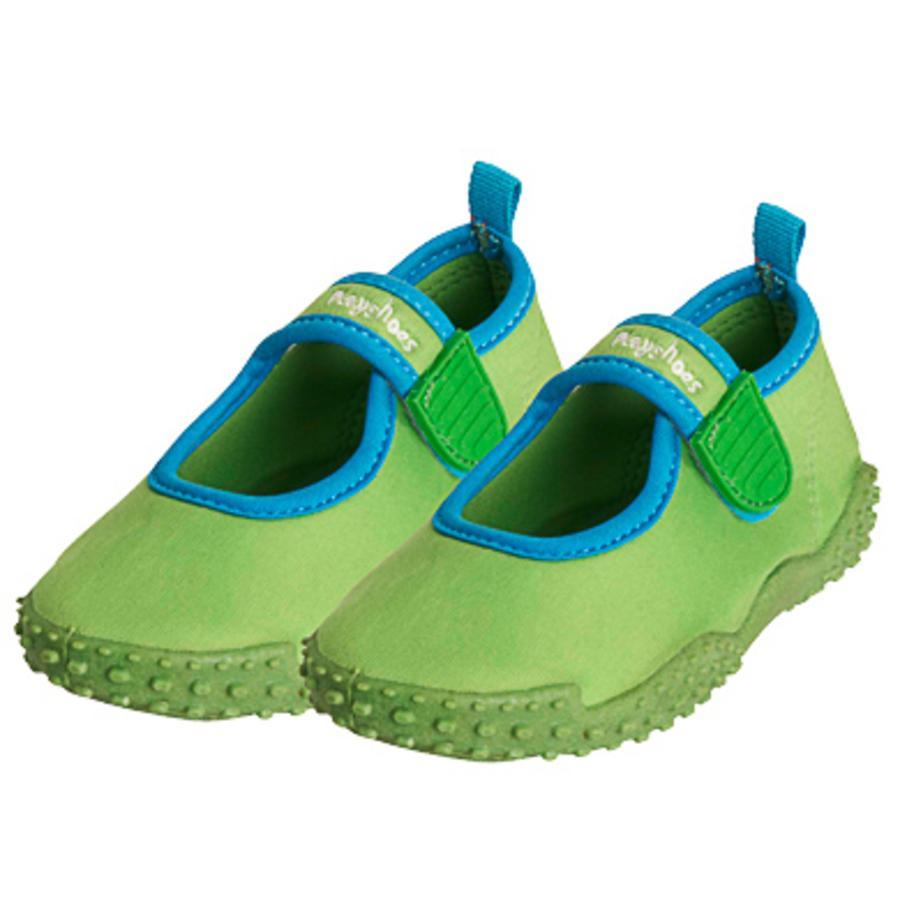 PLAYSHOES Chaussures de bain protection UV 50+ vert