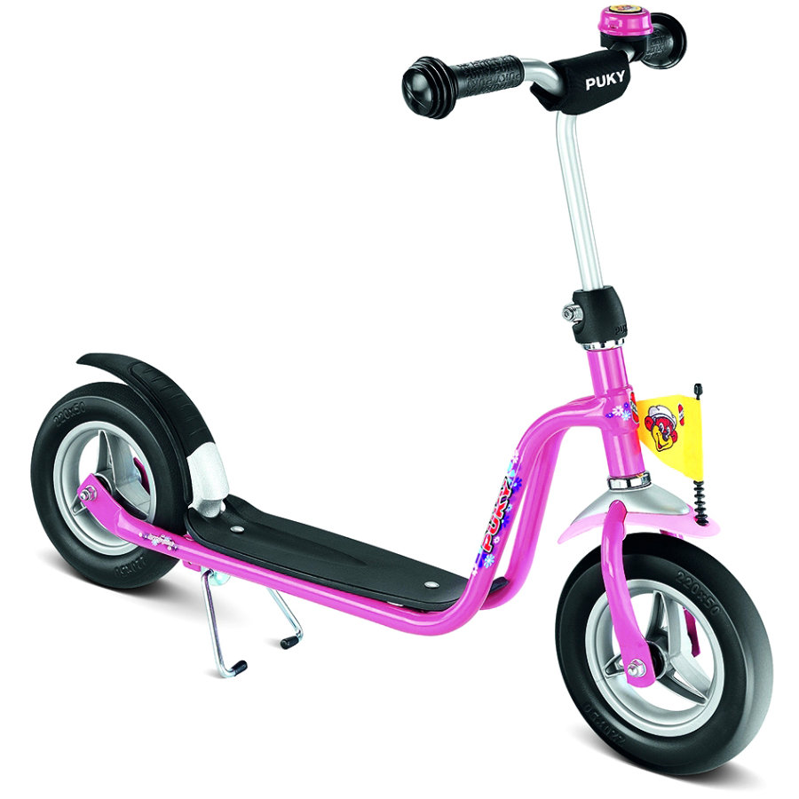 PUKY Scooter R03 with foam tyres, lovely pink 5142