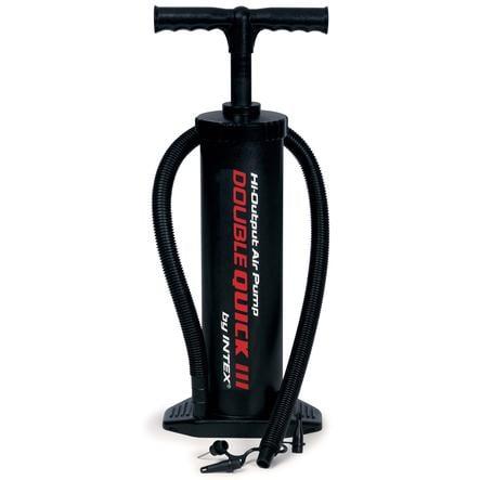INTEX vzduchová pumpa Double Quick III,ideální pro všechny nafukovací výrobky(2x2400ccm)