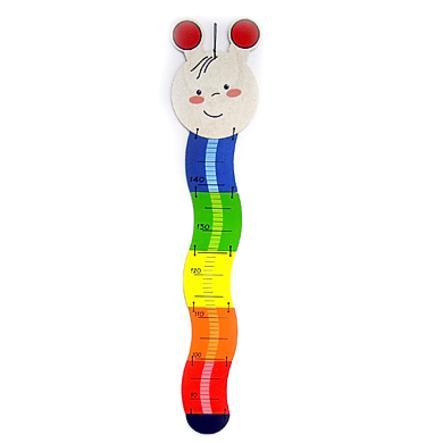 HESS Medidor de altura infantil con espacio para poner la fecha ORUGA