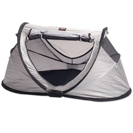 Deryan Lit parapluie/tente Travel Cot Peuter silver