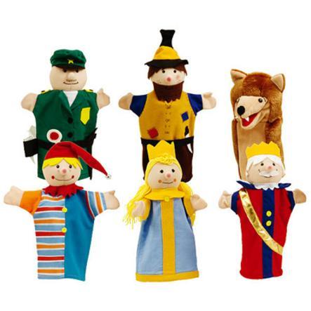 Roba Handpuppen Kasperlefiguren Kaspertheater 6 teile 9712 günstig kaufen Marionette