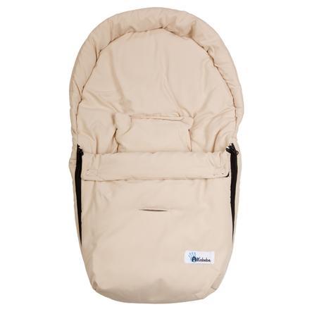Altabebe Sommerfußsack Mikrofiber Babyschale beige