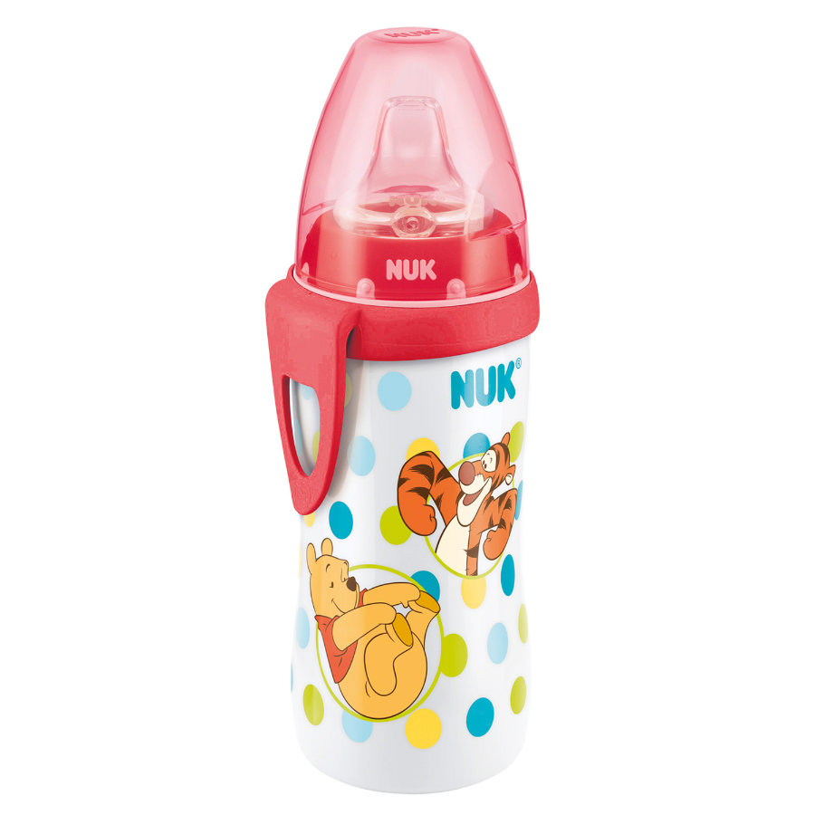 NUK Active Cup Disney Winnie the Pooh rot 300 ml
