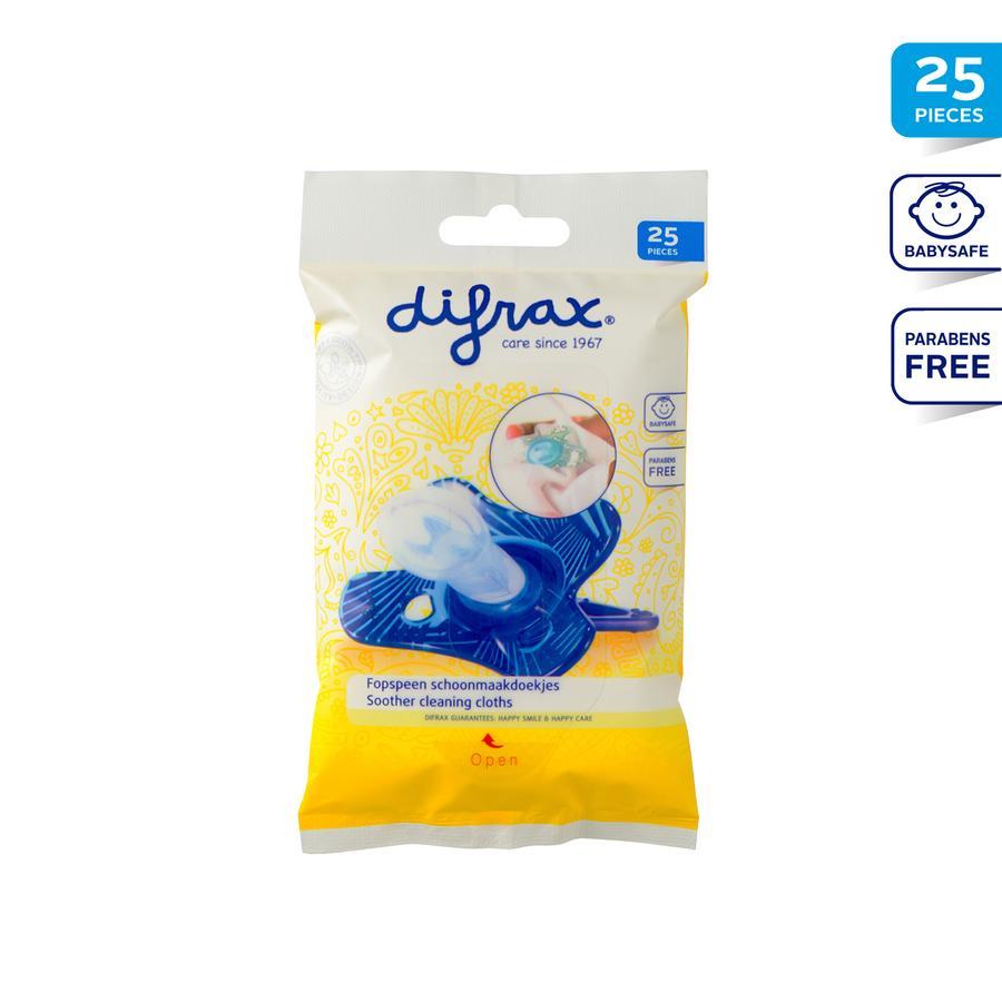 difrax Reinigungstücher für Schnuller 20Stk