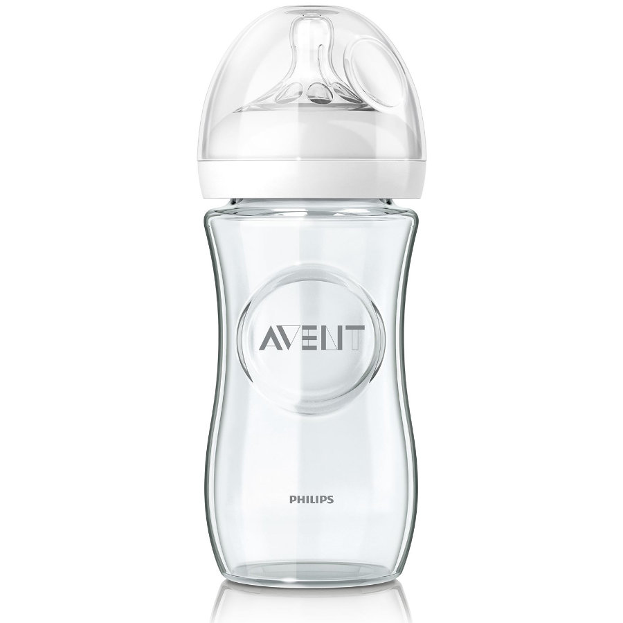 Philips Avent Naturnah-Flasche SCF673/17 240 ml aus Glas