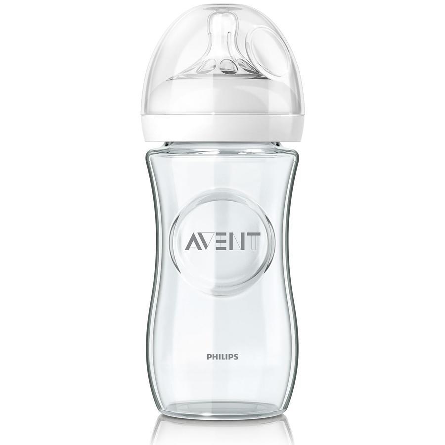 Philips AVENT SCF673/17 Naturnah-Flasche 240 ml aus Glas