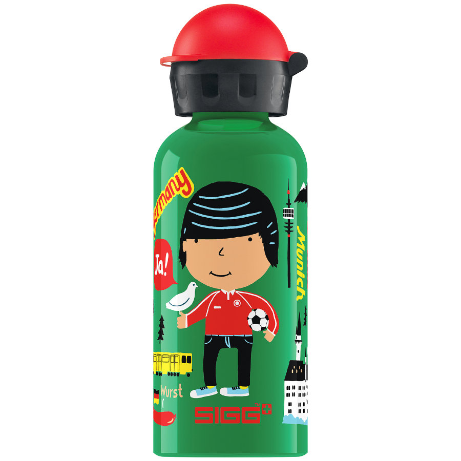 SIGG Trinkflasche 0,4l Design Travel Boy Germany