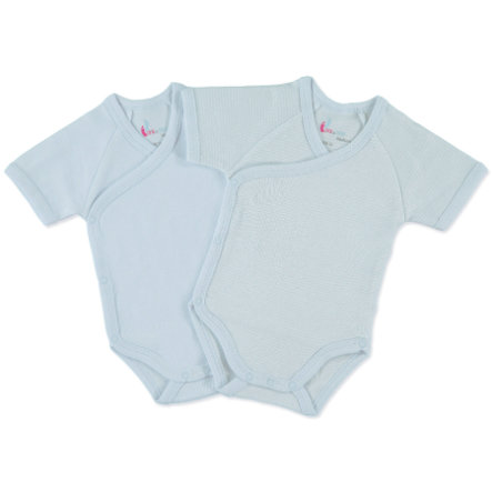 PINK OR BLUE Boys Newborn 2 delige Romperset