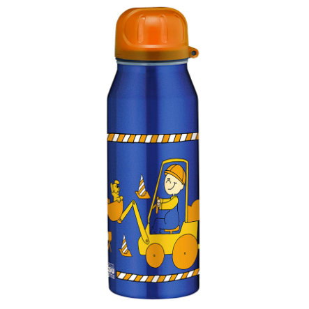 ALFI Trinkflasche ISO Bottle aus Edelstahl 0,35l Design Bodo Buddel