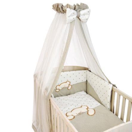 Be's Collection bed set 3 stuks, Groot Willi beige, Groot beige