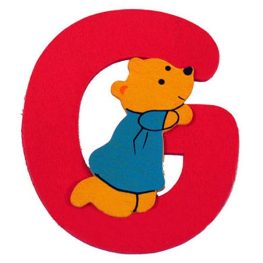 """BIECO Medvědí písmenko """"G"""""""