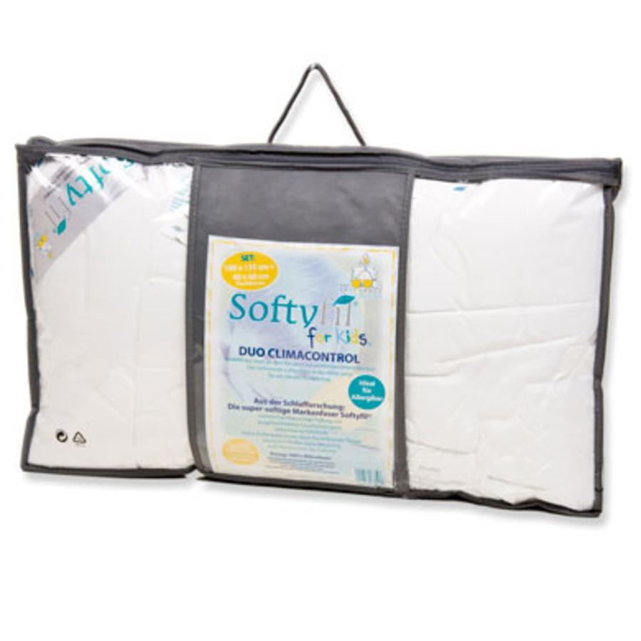 ARO Set Softyfil 100x135 cm + 40x60 cm de fibras huecas 100% poliéster