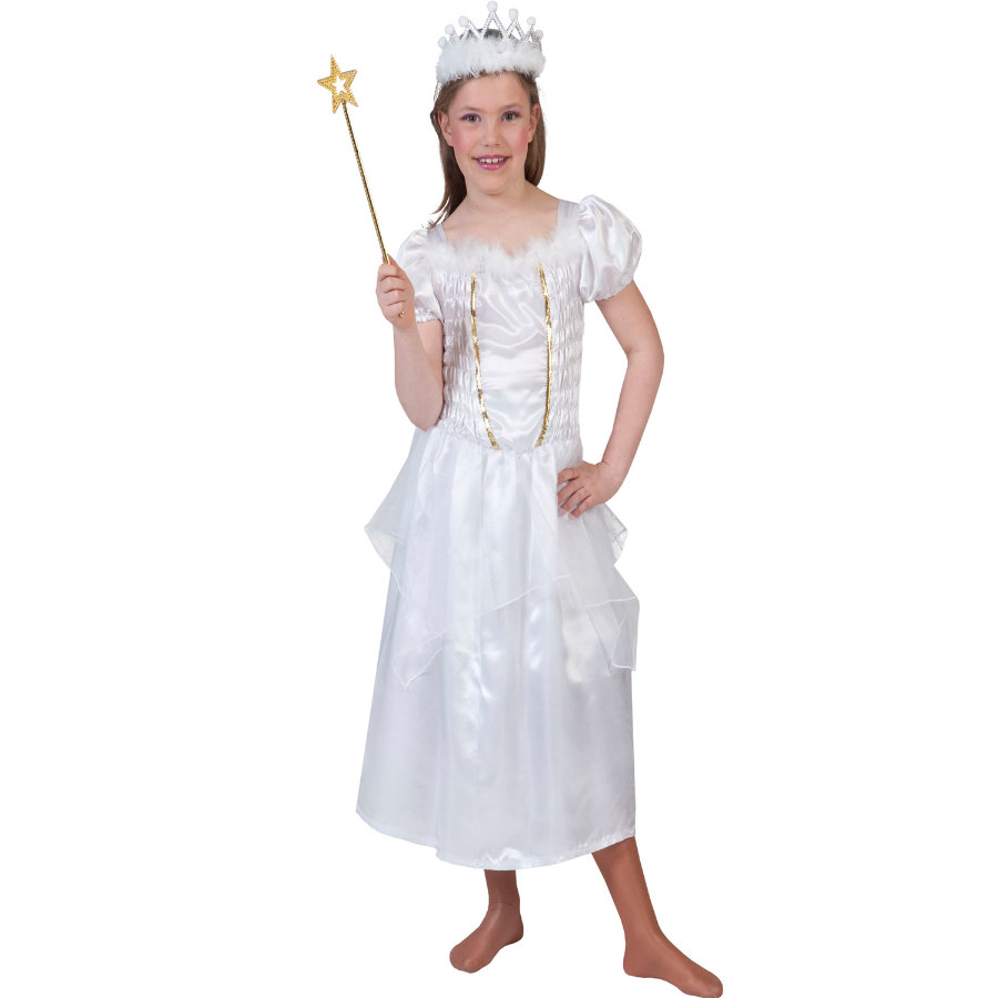 FUNNY FASHION Karneval Kostyme Whitney Prinsesse