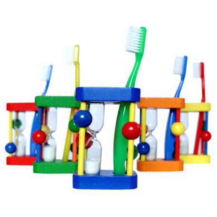 HESS holder til tandbørsten med timeglas