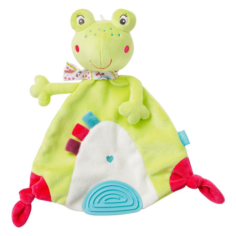 FEHN Schmusetuch Frosch - Sweetheart