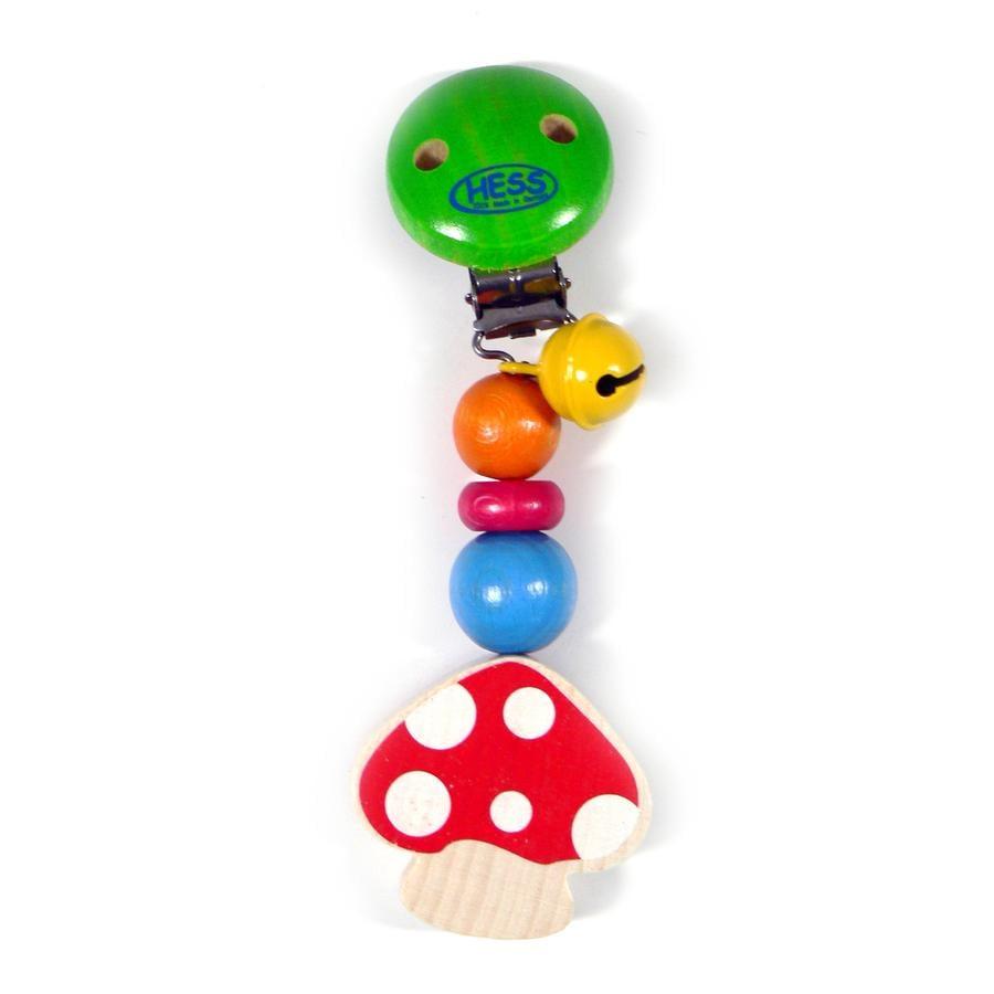 HESS Stroller Chain - Mushroom
