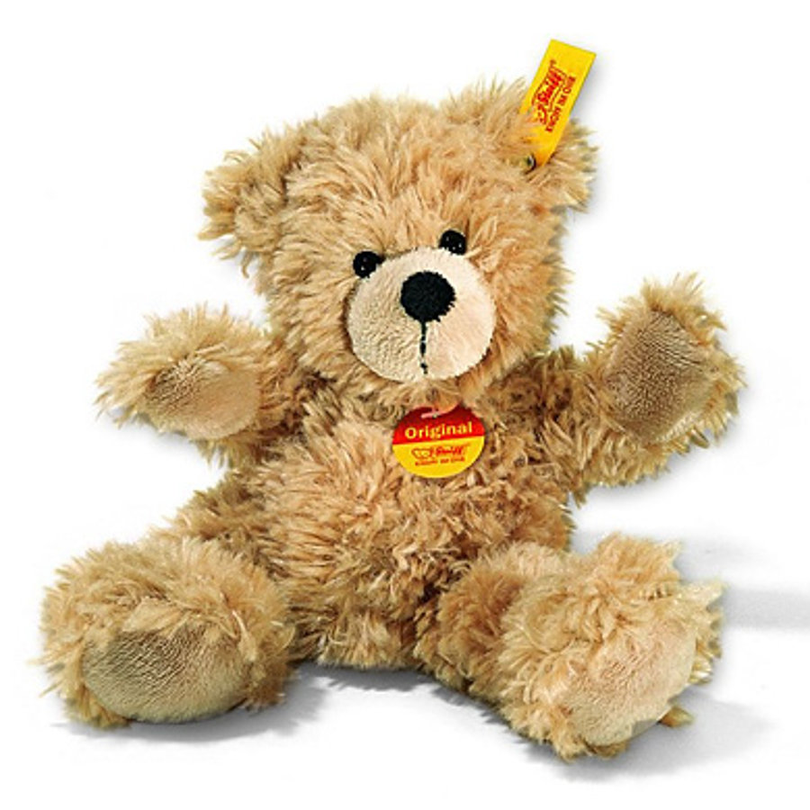 Steiff Teddybjørn Fynn 18 cm beige