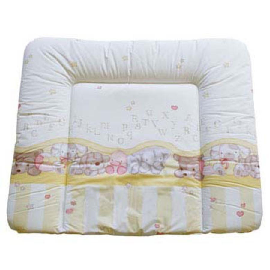 Rotho Babydesign Wickelauflage 72x85cm bedruckt Bärchen/ABC beige phalatfrei*