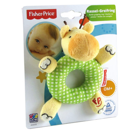 Fisher-Price Grasping Toy Rattle Giraffe