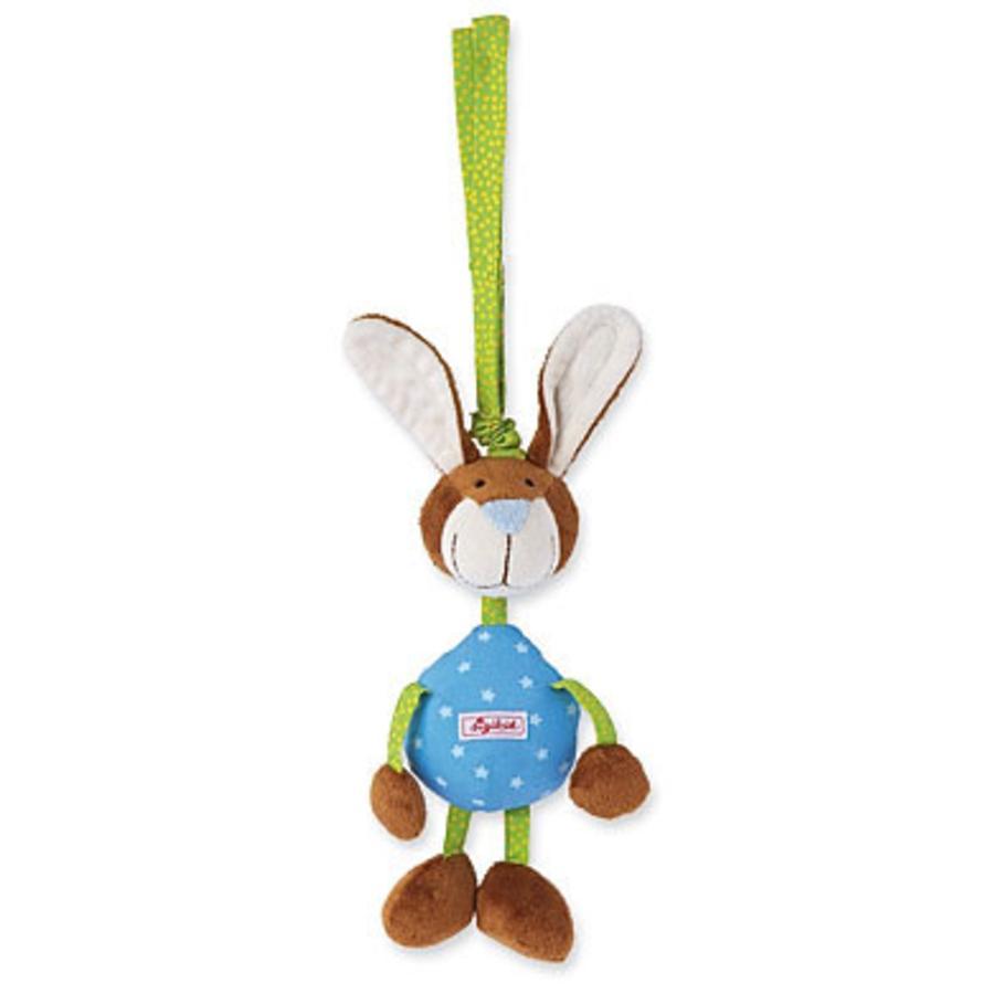 SIGIKID - Hängleksak Hare med vibrationsskallra