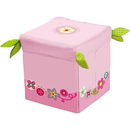 HABA Cube siège Couronne fleurie
