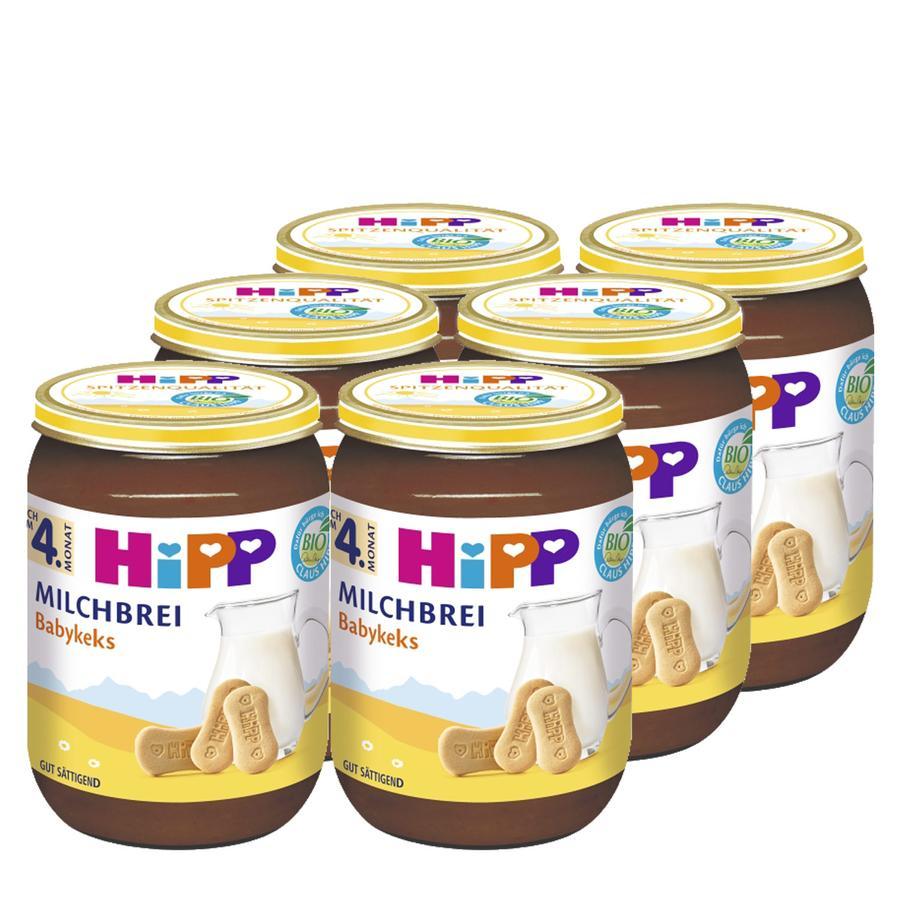 HiPP Bio Milchbrei Babykeks 6 x 190 g