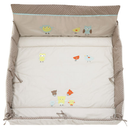 ALVI Playpen Mat Plus Birds beige 416-6
