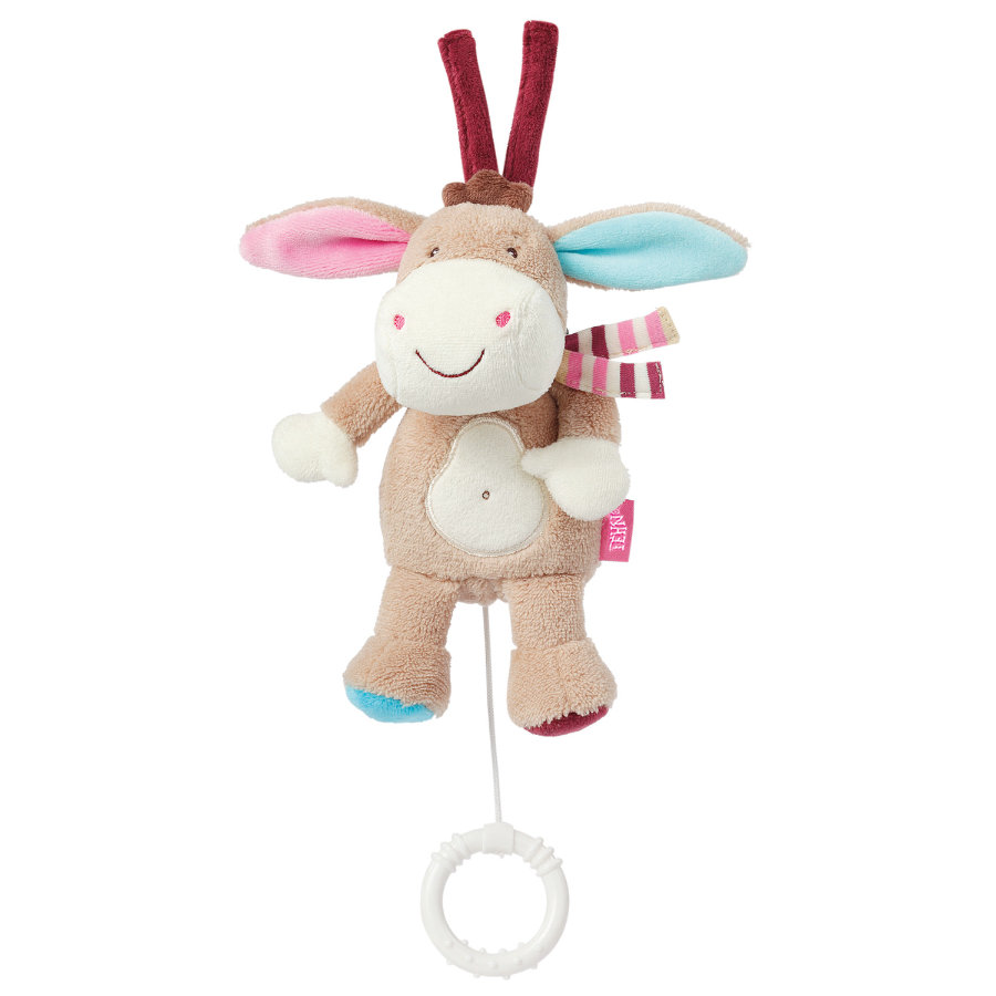Babysun Peluche musicale mini âne Monkey Donkey
