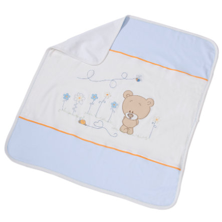Easy Baby Children's Blanket 75x100cm Honey bear blue (462-41)