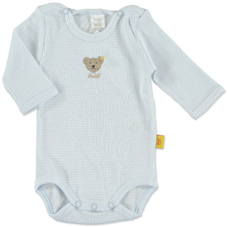 STEIFF Boys Baby Body 1/1 ärm baby blue