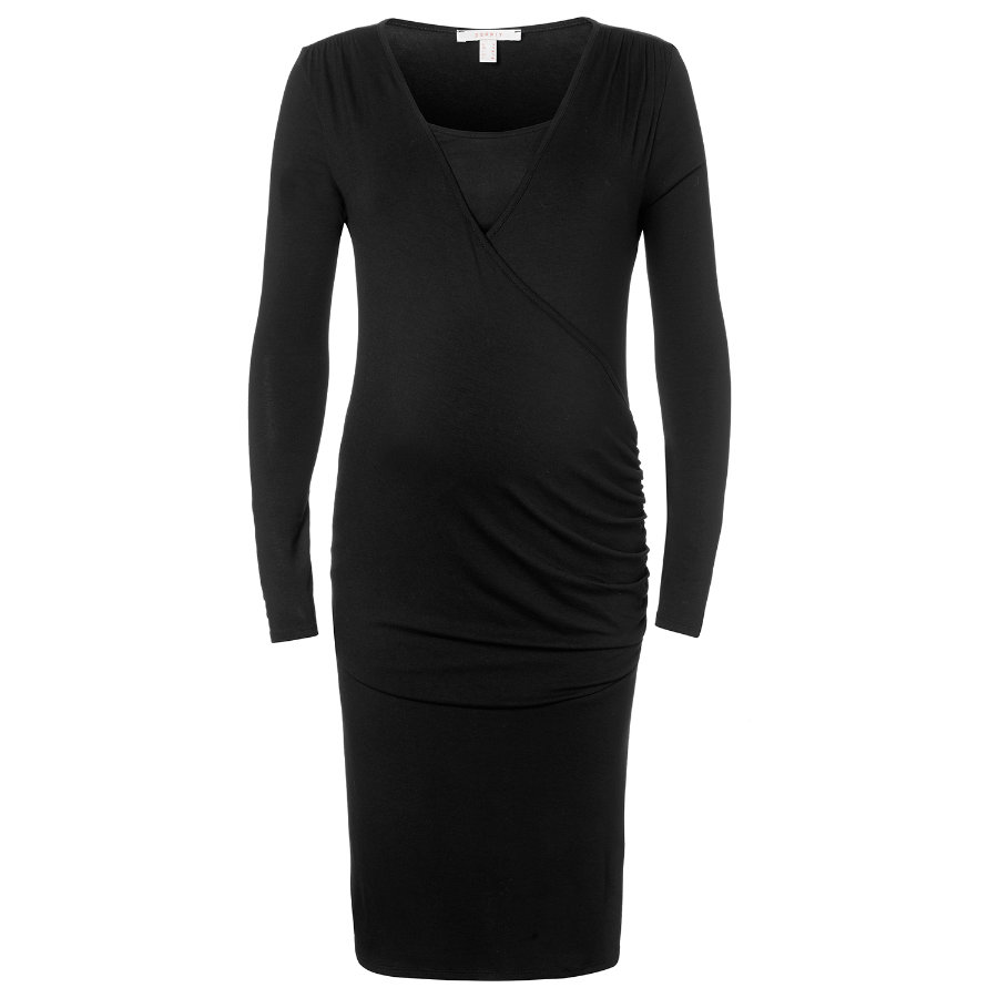 ESPRIT Umstands Still-Kleid black