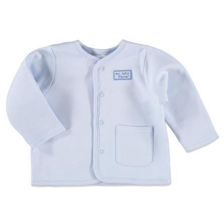 pink or blue Chlapecká oboustranná bunda, pruhy, modrá, bílá
